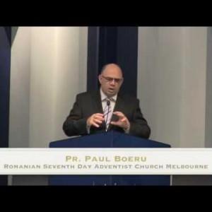 Adventisti ai vechiului testament: Moise si generatia lui (pt 7) – Pr. Paul Boeru (21/05/16)
