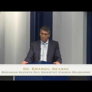 Moartea protestantismului – rationalismul si relativismul – Dr. Emanoil Geaboc (27/02/16)