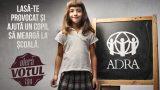 Votând în 2 minute pentru ADRA poți schimba viața a 50 de copii