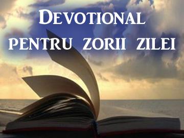 "23/10 ""Salvati suflete inainte ca Isus sa-si incheie lucrarea"" (Devotional de Ellen G White)"