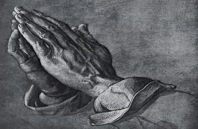 Povestea Mainilor in rugaciune