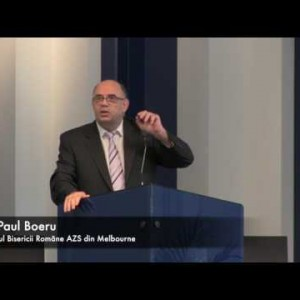 Daniel și biserica ca instituție în criza finală – Pr. Paul Boeru (07/01/17)
