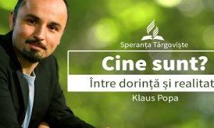 Klaus Popa – Cine sunt eu? Între dorință și realitate