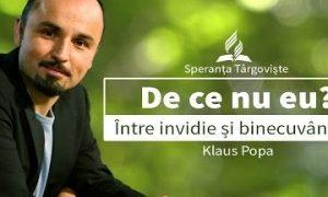 4. Klaus Popa – De ce nu eu?
