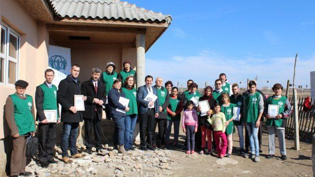 A 10-a casă în a 10-a zi: Președintele Bisericii Adventiste din Muntenia și Dobrogea inaugurează a 260-a casă construită de ADRA România