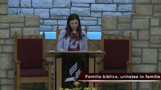 03/18/2017-Familia biblica,unitatea In familie