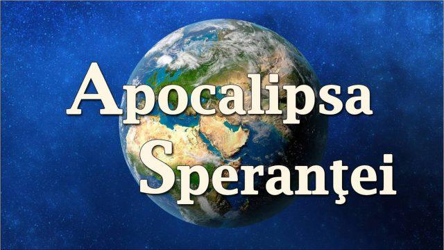 Apocalipsa raspunde la criza valorilor in societate – prezinta: Cerasela Stancu