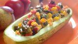 Dovlecei umpluți cu legume