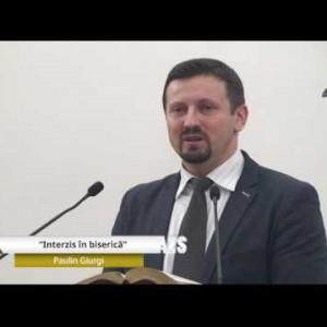 Paulin Giurgi  – Interzis in biserica