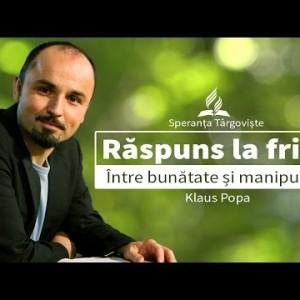 5.Klaus Popa – Raspuns la frica