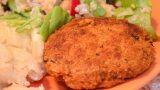 Burgeri de linte roșie și quinoa