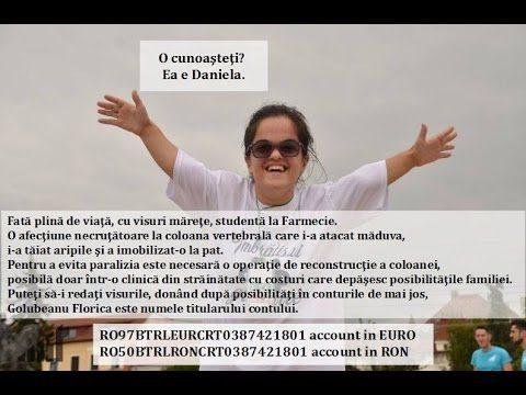 Împreună o putem ajuta pe DANIELA GOLUBEANU – LA TIMP!!!