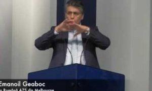 Daniel 12 – Dr. Emanoil Geaboc (10/06/17)