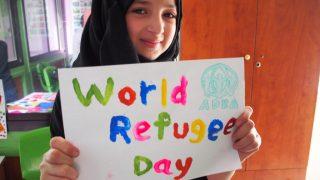ZIUA MONDIALĂ A REFUGIAȚILOR sărbătorită de ADRA România prin cele 7 intervenții umanitare de solidaritate internațională cu refugiații