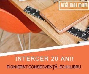 Intercer a implinit 20 ani - Pionierat, consecventa, echilibru