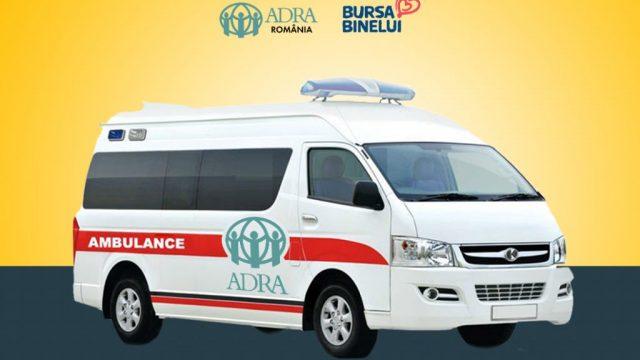 Ambulanța ADRA se pregătește de drum