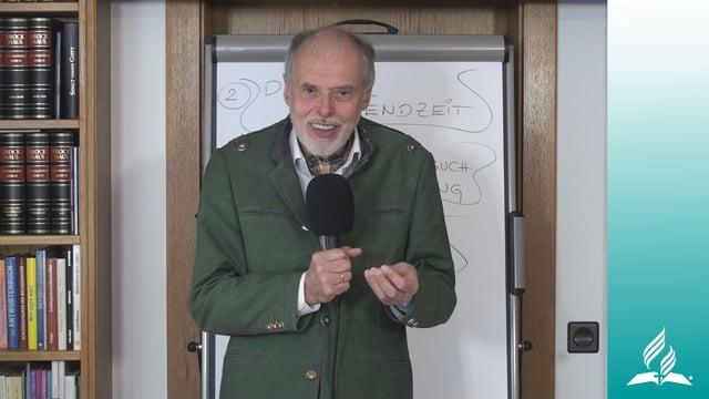 4.4 Gewissheit der Erlösung – ERLÖSUNG UND DIE ENDZEIT   Pastor Mag. Kurt Piesslinger