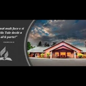 10.05.2018 -Iacob Coman – Ce scrie Dumnezeu despre viata ta?