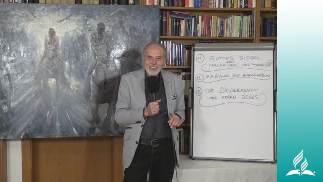 13.2 Daniel und die Wiederkunft Jesu – DIE WIEDERKUNFT UNSERES HERRN JESUS | Pastor Mag. Kurt Piesslinger