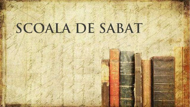 11.6  Sabatul ca sigiliu (st11 Sigiliul lui Dumnezeu sau semnul fiarei)