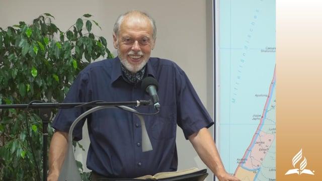 3.2 Die Heilung eines Gelähmten – DAS LEBEN IN DER FRÜHEN CHRISTENGEMEINDE | Pastor Mag. Kurt Piesslinger