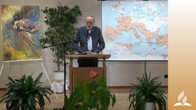 13.4 Paulus endlich in Rom – DIE REISE NACH ROM | Pastor Mag. Kurt Piesslinger