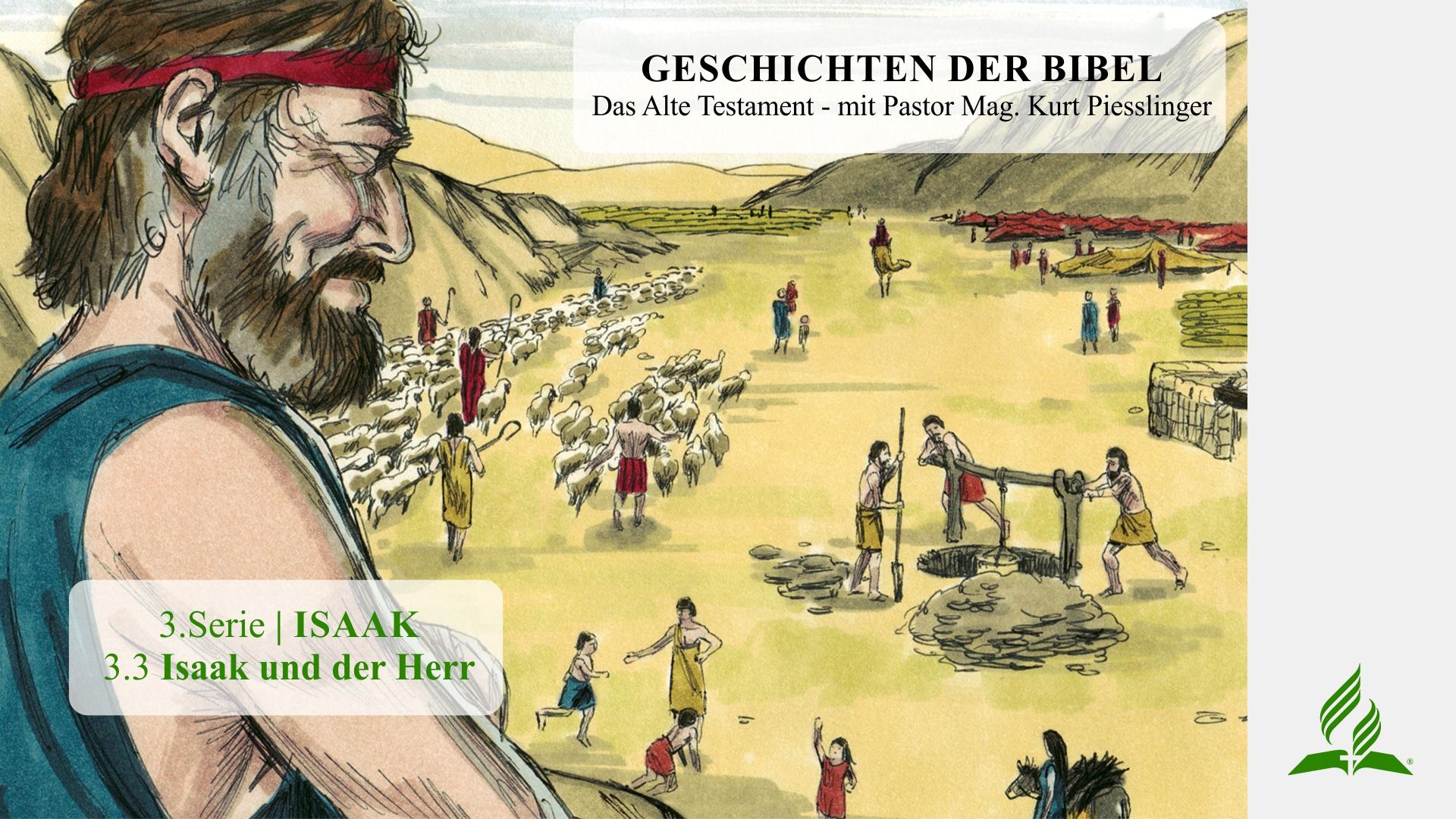 3.3 Isaak und der Herr x