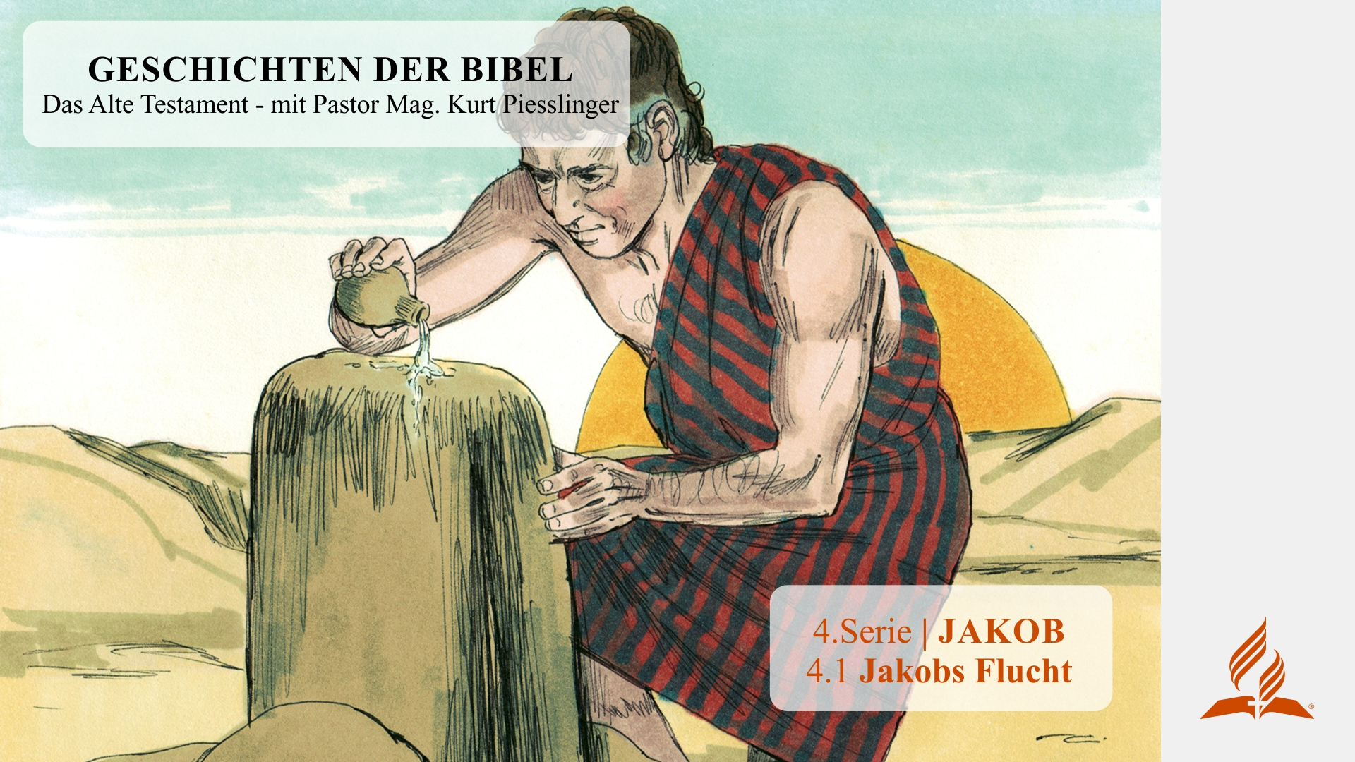 4.1 Jakobs Flucht x
