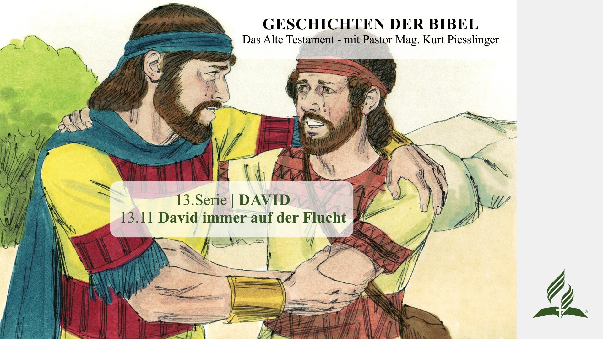 13.11 David immer auf der Flucht x