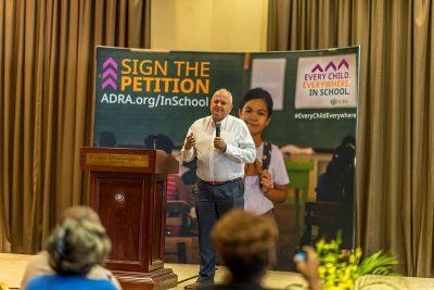 """Semnează și tu petiția ADRA: """"Fiecare copil. Din fiecare loc. La școală.""""!"""