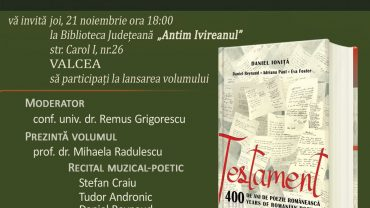 Testament_400ani_Daniel_Ionita_Valcea