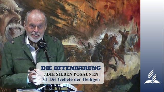 7.1 Die Gebete der Heiligen – DIE SIEBEN POSAUNEN | Pastor Mag. Kurt Piesslinger