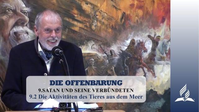 9.2 Die Aktivitäten des Tieres aus dem Meer – SATAN UND SEINE VERBÜNDETEN   Pastor Mag. Kurt Piesslinger