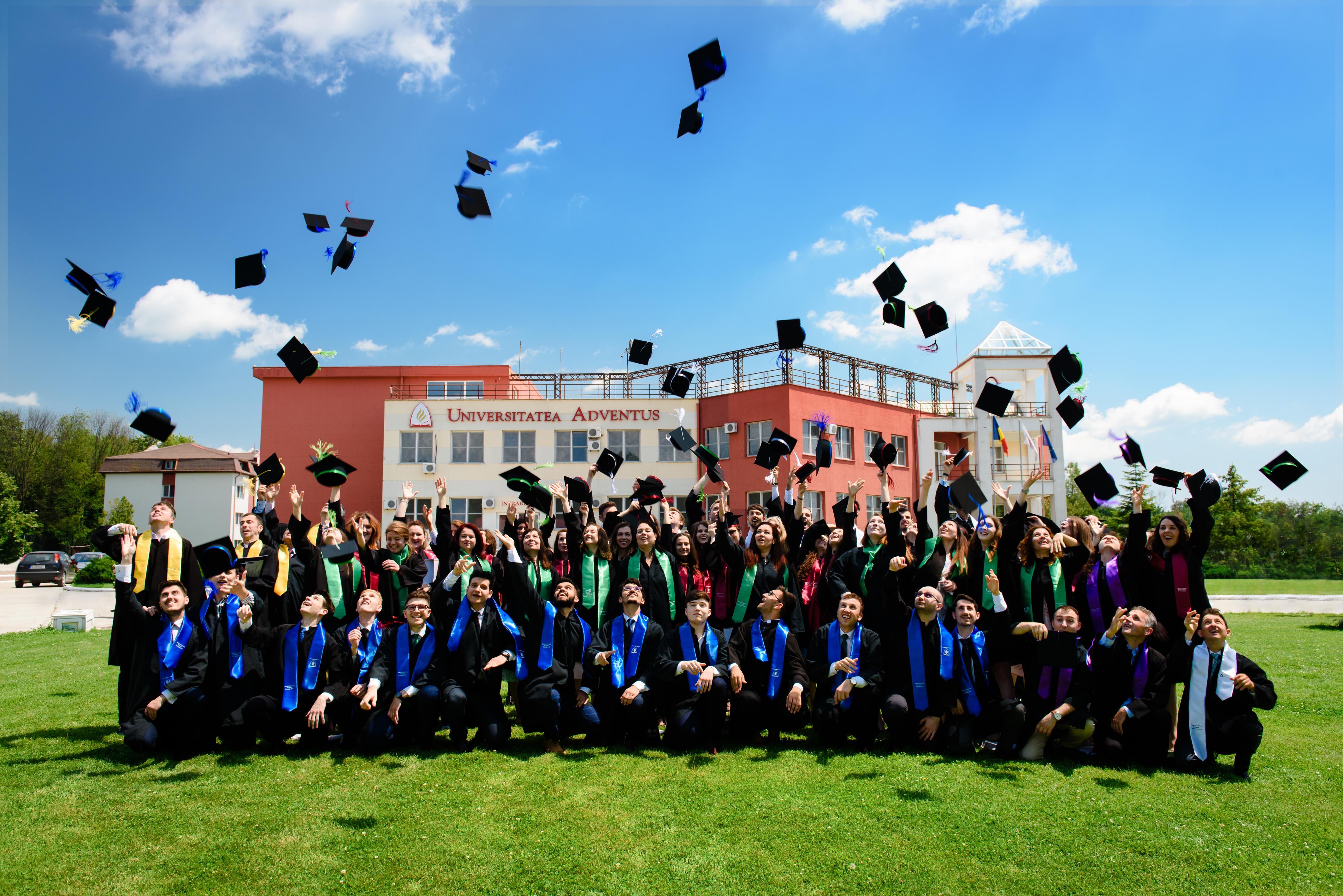 Festivitatea de absolvire în Campusul Adventist din Cernica – Promoția 2019