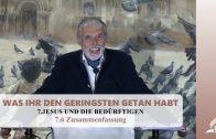 7.6 Zusammenfassung – JESUS UND DIE BEDÜRFTIGEN | Pastor Mag. Kurt Piesslinger
