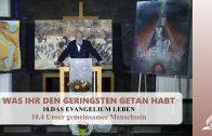 10.4 Unser gemeinsames Menschsein – DAS EVANGELIUM LEBEN | Pastor Mag. Kurt Piesslinger