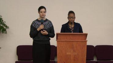 """""""Rugaciunea Radicala"""" Speaker Christelle Agboka"""