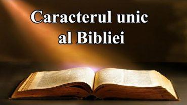 Studiul 01 – Caracterul unic al Bibliei