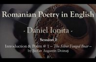 Romanian Poetry in English – Daniel Ionita – Introduction and Poem #1 – The Silver Fanged Boar