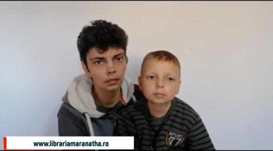 Libraria Maranatha a donat 7.760 Euro pentru Amariei Alin