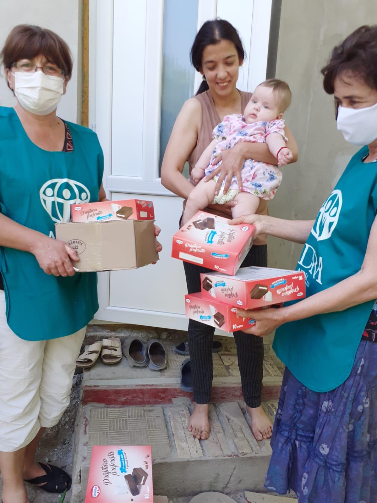 """3.946 persoane primesc ajutor în cea de-a 17-a săptămână de implementare a proiectului ADRA """"Sprijin umanitar COVID-19"""""""
