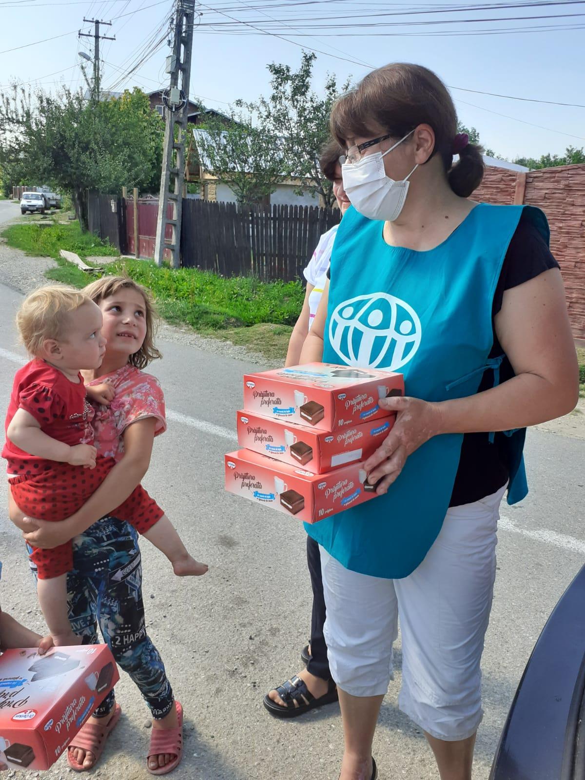 """1.526 persoane primesc ajutor în cea de-a 16-a săptămână de implementare a proiectului ADRA """"Sprijin umanitar COVID-19"""""""